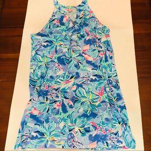 LP- Shay Dress,size XL, Bennett Blue/Celestial Sea